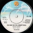 """Sylvester You Make Me Feel (Mighty Real) (16906) 7"""" Single 1978 Fantasy FTC 160"""