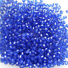 1000 4mm 6mm 8mm Lovely Bicone Beads Acrylic Choice of 10 Colours Craft Jewelery