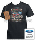 ROADSTER GARAGE FORD T-BUCKET 1923 CAR CLASSIC SHOW GEAR GRAPHIC PRINTED T-SHIRT