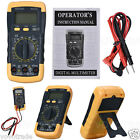 LCD Digital Multimeter Ammeter Voltmeter Ohmmeter Current Tester  Wire pen cable
