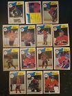 1983-84 OPC MONTREAL CANADIENS Select from LIST NHL HOCKEY CARDS O-PEE-CHEE