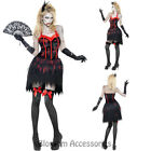 CA10 Zombie Burlesque Costume Womens Walking Dead Halloween Horror Fancy Dress