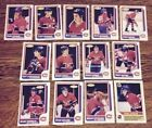 1986-87 OPC MONTREAL CANADIENS Select from LIST NHL HOCKEY CARDS O-PEE-CHEE