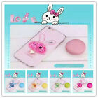 Lovely Cute Rabbit Quicksand Pattern Case Cover For Iphone 5 5s 6 6s 6 plus