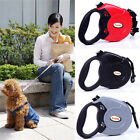 Retractable Dog Pet Extendable Training Lead Leash Collar 8M Long Max 50KGS UK