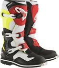 Alpinestars Tech 1 Offroad Motocross Boots Black/White/Yellow/Red Mens