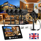 4CH Full 960H DVR HDMI Outdoor Home CCTV Security Cameras System Kit + Monitor