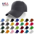Kyпить Plain Baseball Cap Solid Color Blank Curved Visor Hat Adjustable Polo Caps New на еВаy.соm