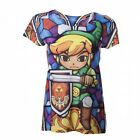 The Legend of Zelda Ladies T-Shirt Zelda Sumblimation Size M