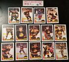 1987-88 OPC VANCOUVER CANUCKS Select from LIST NHL HOCKEY CARDS O-PEE-CHEE