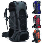 Camping Rucksack Backpack Hike Outdoor Military Tactical Travel Large Bag 60L