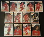 1985-86 OPC DETROIT RED WINGS Select from LIST NHL HOCKEY CARDS O-PEE-CHEE