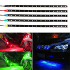 1/5pcs New 15 LED 12V 30cm Car Motor Vehicle Flexible Waterproof Strip Light
