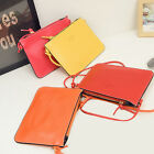 Fashion Women Lady PU Leather Handbag Shoulder Bag Messenger Crossbody ClutchLAX