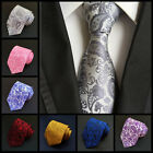 Newest Classic Paisley JACQUARD WOVEN Handmade  Men's Tie Necktie  Fashion Hot