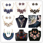 Earrings Pendant Necklace Romantic N+P+E Crystal Marquise  Jewelry Set image