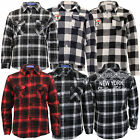 Girls Boys Checked Tartan Shirt Long Sleeved Kids Collared Casual Fashion New