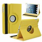 Ultra Slim 360 Rotating Leather Smart Cover Case For Apple iPad Mini 1 2 3