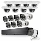 Zmodo 16CH NVR 16 720p PoE Dome+Bullet IP Network Home Security Camera System