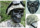 3 in 1 AIRSOFT SET PASGT M88 COMBAT HELMET + COVER + M02 CACIQUE SKULL FACE MASK