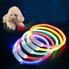 Dog Collars USB Charging Luminous Collar Pet Leads Light Collars Pet Supplies