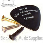 Guitar screws chrome black or gold string tree pickup surrounds 2.5mm x 15mm
