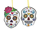 12 Colour Your Own Day of the Dead Halloween Ornaments - Kids Crafts