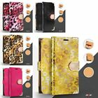 For iPhone SE 5 5S PU Leather Flip Credit Card Wallet Protective Case