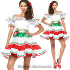 CA82 Leg Avenue Sultry Senorita Mexican Womens Fancy Dress Up Halloween Costume