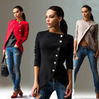 Fashion Women Long Sleeve Casual Blazer Suit Casual Jacket Coat Outwear cardigan