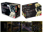CHRISTMAS 400/600 WARM WHITE LED STRING INDOOR OUTDOOR LIGHTS W TIMER & CHASER