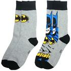 Batman/Flash/Sesame Street/Ghostbusters/Family Guy Adulto Calze Pacco Doppio