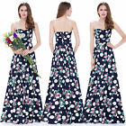 Ever Pretty Women's Long Floral Printed Elegant Long Party Formal Dress 08973