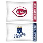 nEw 2pc MLB BASEBALL Logo PILLOWCASES - Decor Sports Team Bedding Accessories