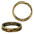 Nunn Design Ring, Hammered Ring Size 8, 1 Piece, Antiqued Gold