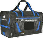 American Kargo Luggage Gear Bag Large Bag Blue