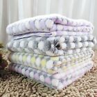 Pet Blanket Dog Cat Mat Puppy Sleeping Pad Flannel Cushion Wraps Comfy Bed Cover
