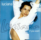 "Luciana If You Want 12"" vinyl single record (Maxi) UK 12CHS5009 CHRYSALIS 1994"
