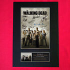 WALKING DEAD Mounted Signed Photo Reproduction Autograph Print A4 330
