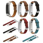 Genuine Leather Watch Band Bracelet Strap replacement wristband for Fitbit Alta