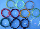STANDARD SIZE TUBING -- Fly Tying for Bodies Ribbing individual pack or lot