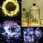 10/20/30/40/50 LED String Fairy Lights Copper Wire Battery Powered Waterproof