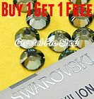 *Buy 1 Get 1 FREE* GENUINE Swarovski Jonquil SATIN Yellow 5mm Hotfix Rhinestone
