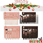 12/8/ 15PCS Sale Complete Zoeva Make Up Brush Set Bag Makeup Brushes Rose Golden