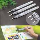 3 Sizes Soft Water Brush Pen Paint For Watercolor Beginners Calligraphy Reusable