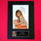 TINA TURNER Autograph Mounted Signed Photo Reproduction Print A4 245