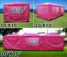 New Deluxe Outdoor Party Wedding Tent Gazebo Events Pavilion - Pink
