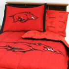 NCAA COLLEGE BEDDING SET - Bed in a Bag Comforter Sheets Team Logo Sports League