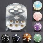 Carved Gemstone Assorted Lucky Chessex Casino Six Sided Dice Card Board Games