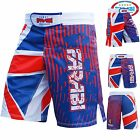 Farabi Union Jack MMA Shorts for Training Grappling Workout Gym Fighting Boxing